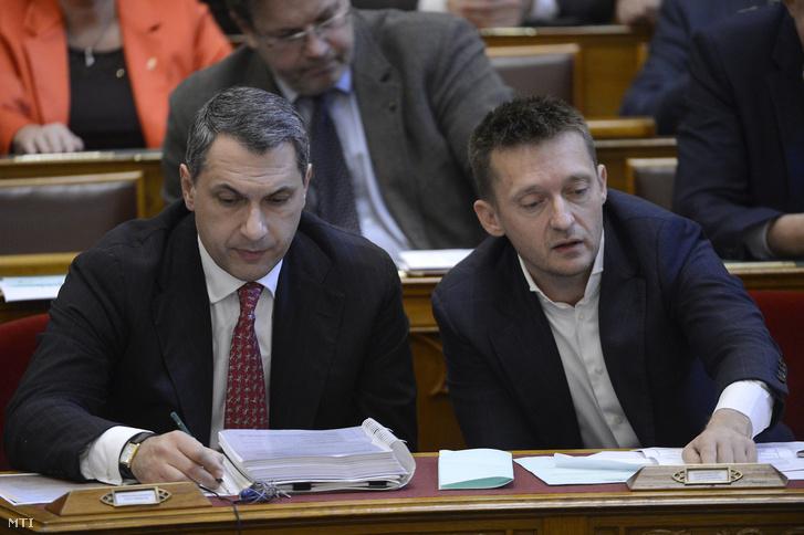 Lázár János és Rogán Antal