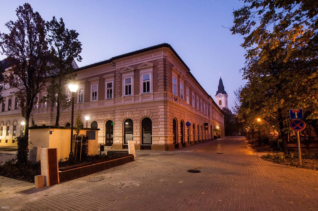 Kecskemét, Kálvin tér, 2015. október 31.