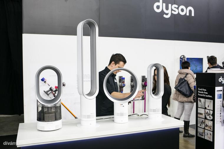 A Dyson nemcsak hajszárítókban, de vezeték nélküli porszívókban és mindenféle légtisztítókban is erős