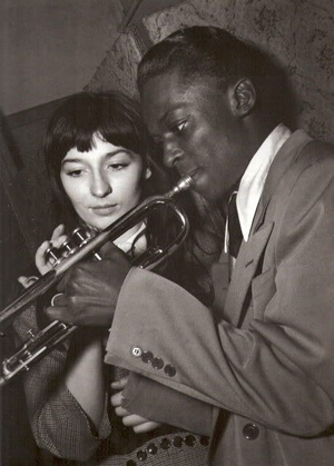 Juliette Greco és Miles Davis 1949.