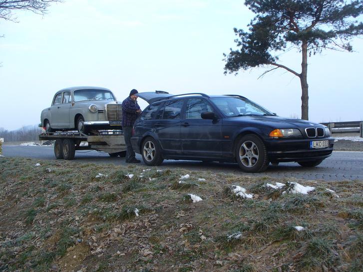 Csillag Balázs BMW-je után, Kelet-Németországban