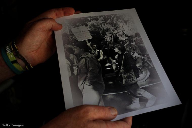 Ez a fotó 1978 márciusában készült, amikor először rendeztek melegfelvonulást Sydney-ben
