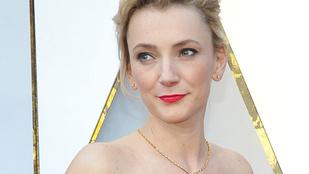 Borbély Alexandrának nagyon jól állt az Oscar vörös szőnyege