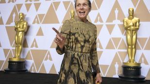 Frances McDormand olyat mondott az Oscaron, ami azonnal magyarázatra szorult