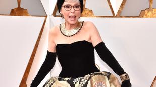 A 86 éves Rita Moreno ugyanabban a ruhában ment az Oscarra, mint 1962-ben