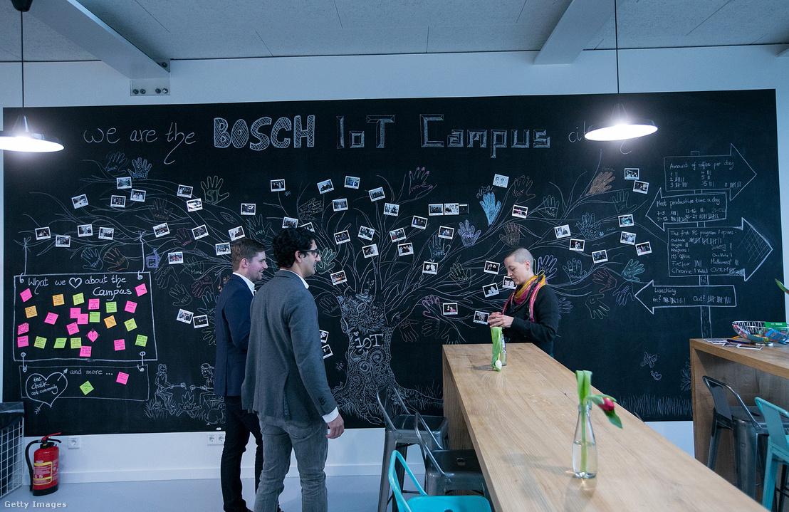 """A Bosch """"Internet of things"""" megoldásokat kutató kampusza Berlinben"""