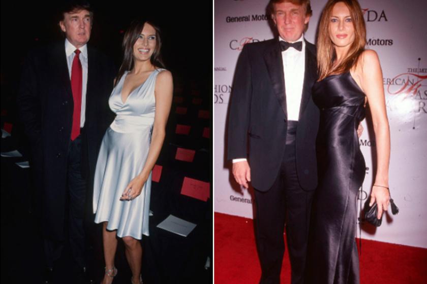 A szlovén származású modell, Melania Knauss és Donald Trump 1998-ban ismerkedtek meg, '99-ben pedig hivatalosan is felvállalták kapcsolatukat.