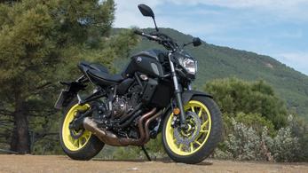 Bemutató: Yamaha MT-07 – 2018.