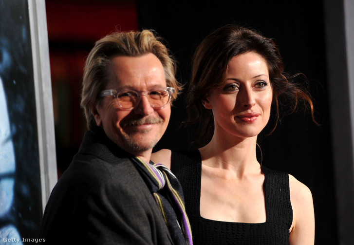 Gary Oldman és Donya Fiorentino 2011-ben