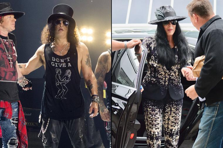 Igen, az énekesnőről készült legfrisebb fotók láttán azonnal a rockzenész jutott eszünkbe, ahogy pedig egymás mellé tettük a fotóikat még jobban feltűnt a hasonlóság.