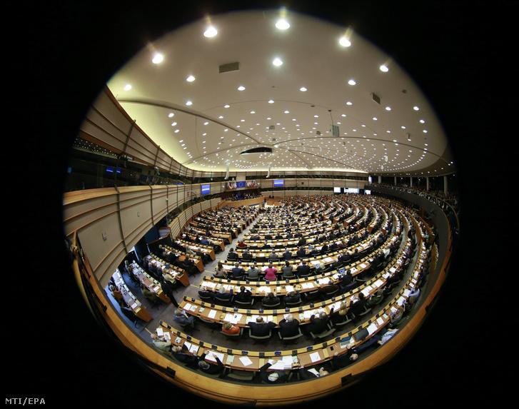 Az Európai Parlament plenáris ülése Brüsszelben 2018. március 1-jén.