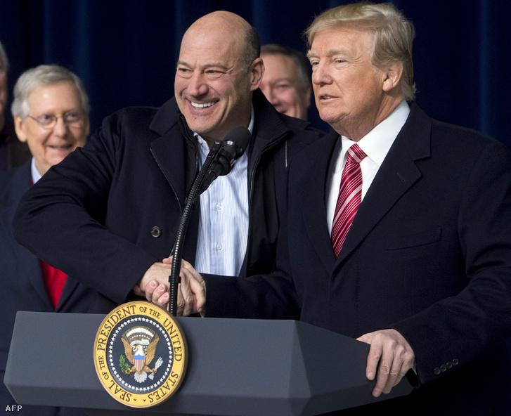 Gary Cohn és Donald Trump