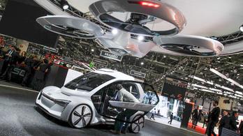 Az Audi jegeli a légitaxi-fejlesztést