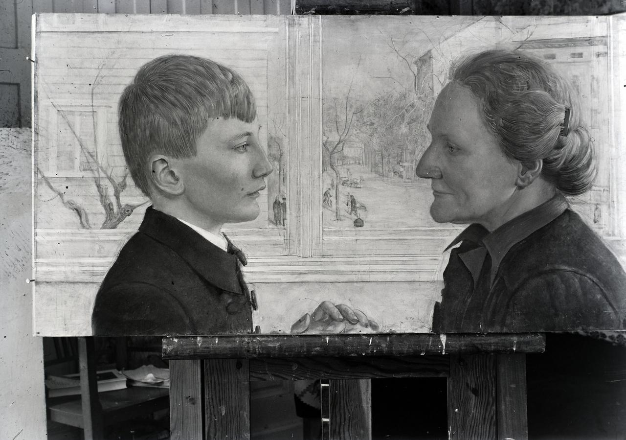 Vinkler László a vajdasági Szabadkán született 1912 október 1-én. Gyerekkorának két meghatározó pillanata volt. Az egyik, amikor rajztanára eltiltotta az ábrázoló rajzolástól, és motívumsorokat festetett vele. A második pedig, amikor ügyvéd apját száműzték Szabadkáról, és a család Szegeden kötött ki.                          Az elhivatott Vinkler tehetségét gimnáziumi évei alatt felfedezte Glattefelder Gyula csanádi püspök, aki minden lehetséges módon támogatta, hogy a festői pályát válassza. Többek között neki is köszönhető, hogy a gimnáziumi évek után a Képzőművészeti Főiskolán folytatta tanulmányait.
