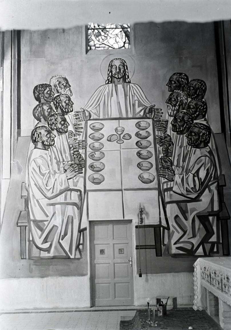 Az Utolsó Vacsora, a Petőfi (korábban Somogyi)-telepi Jézus Szíve Plébániatemplom freskója, ami 1938-42 között készült. A templom maga 1936-ban épült Fábián Gáspár tervei alapján. Ebben az évben tért vissza Vinkler László Szegedre, hogy kijelölje a saját útját, és  ekkor ismerkedett meg a szegedi Hősök kapujának freskóit festő Aba-Novák Vilmossal is, aki az egyik legfontosabb hatása lett. Vinkler 1935-ben Rómában töltött 8 hónapot ösztöndíjjal, így az ottani élmények, valamint Aba-Novák bíztatása miatt fogadta el a felkérést a freskó elkészítésére.