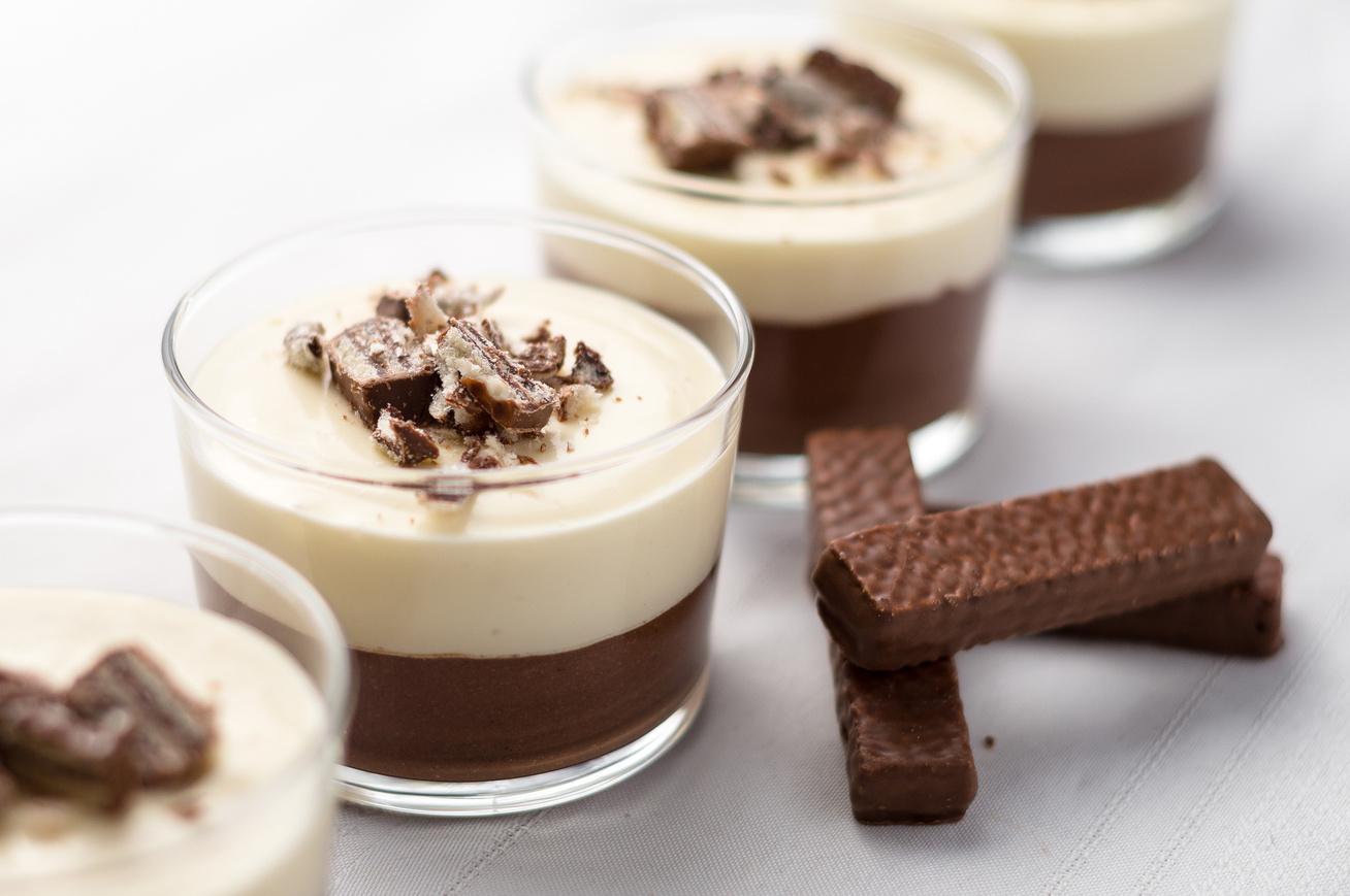 10 perces, házi pohárkrém kétféle csokiból: jobb, mint a puding