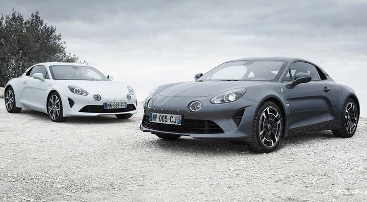 Alig egy tonna tömeg, 250 lóerő: az A110-es Pure változatának jobb a súly/lóerő aránya, mint a Porsche Boxsteré