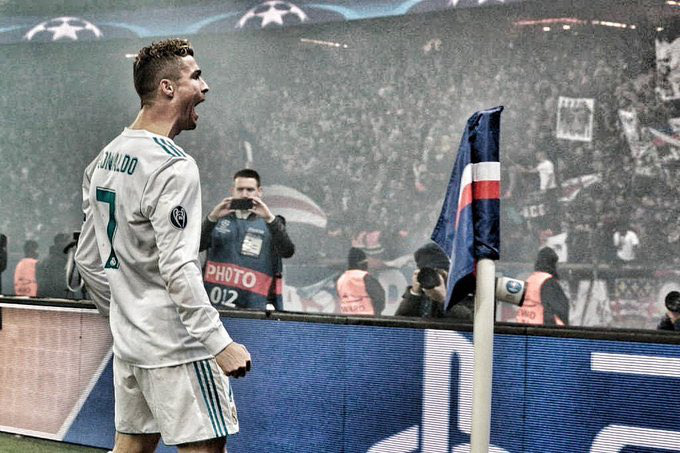 Cristiano Ronaldo Párizsban