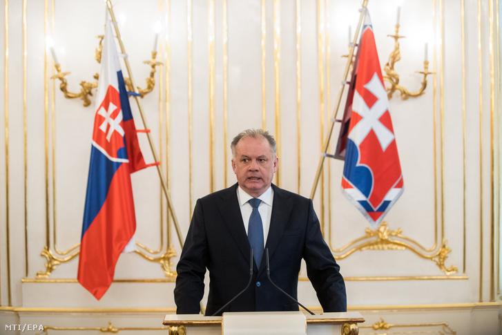 Andrej Kiska szlovák államfõ