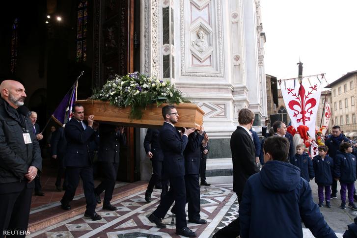 Davide Astori temetése