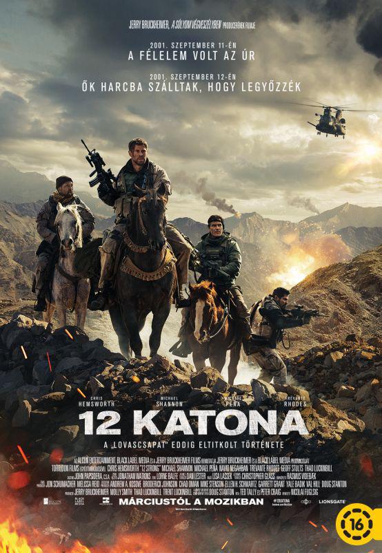 12 katona poszter