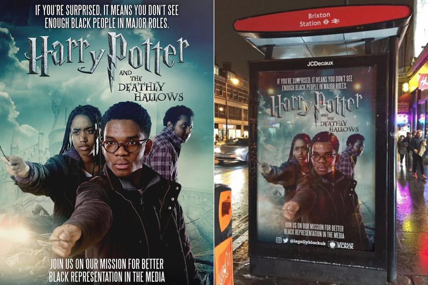 A Harry Potter újragondolt plakátja aratta a legnagyobb sikert az internetezők körében.