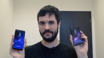 Galaxy S9: borotva nélkül lekapja a szakállt