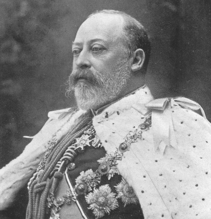 VII Eduárd 1902-ben