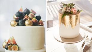 Ezek a legmenőbb esküvői torták
