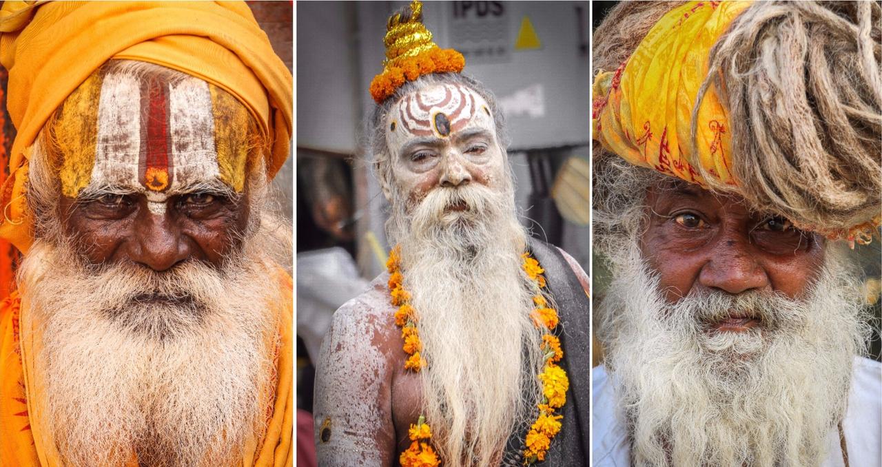 Az indiai hinduizmus egyik szent embere a szádhu. Ők a társadalmon kívül élnek, elszánva magukat arra, hogy a világtól elvonulva, meditálva éljenek, és így érjék el a teljes felszabadulást. Indiai és Nepál területén évezredek óta élnek ilyen aszkéták, számukat 4-5 millióra becsülik. A szádhu szanszkrit szó, eredet jelentése jó ember vagy szent ember. A szádhuk túlnyomó többsége jógi. Ruhájuk jellemző színe a sáfránysárga vagy az okkervörös, a homlokukat szántálkenőccsel jelölik meg.