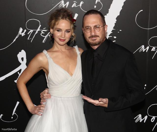 Jennifer Lawrence ás Darren Aronofsky nem sokkal a szakításuk előtt.