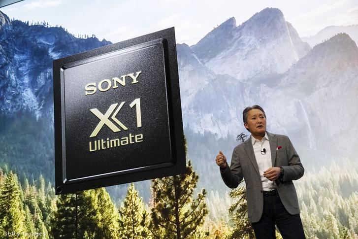 A Sony bemutatója a 2018-as CES-en