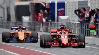 Alonso a végére megszorította Räikkönent
