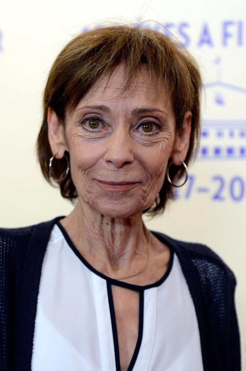 A Jászai Mari-díjas színésznő 2017 szeptemberében a százéves Filmgyár jubileumi ünnepségén.