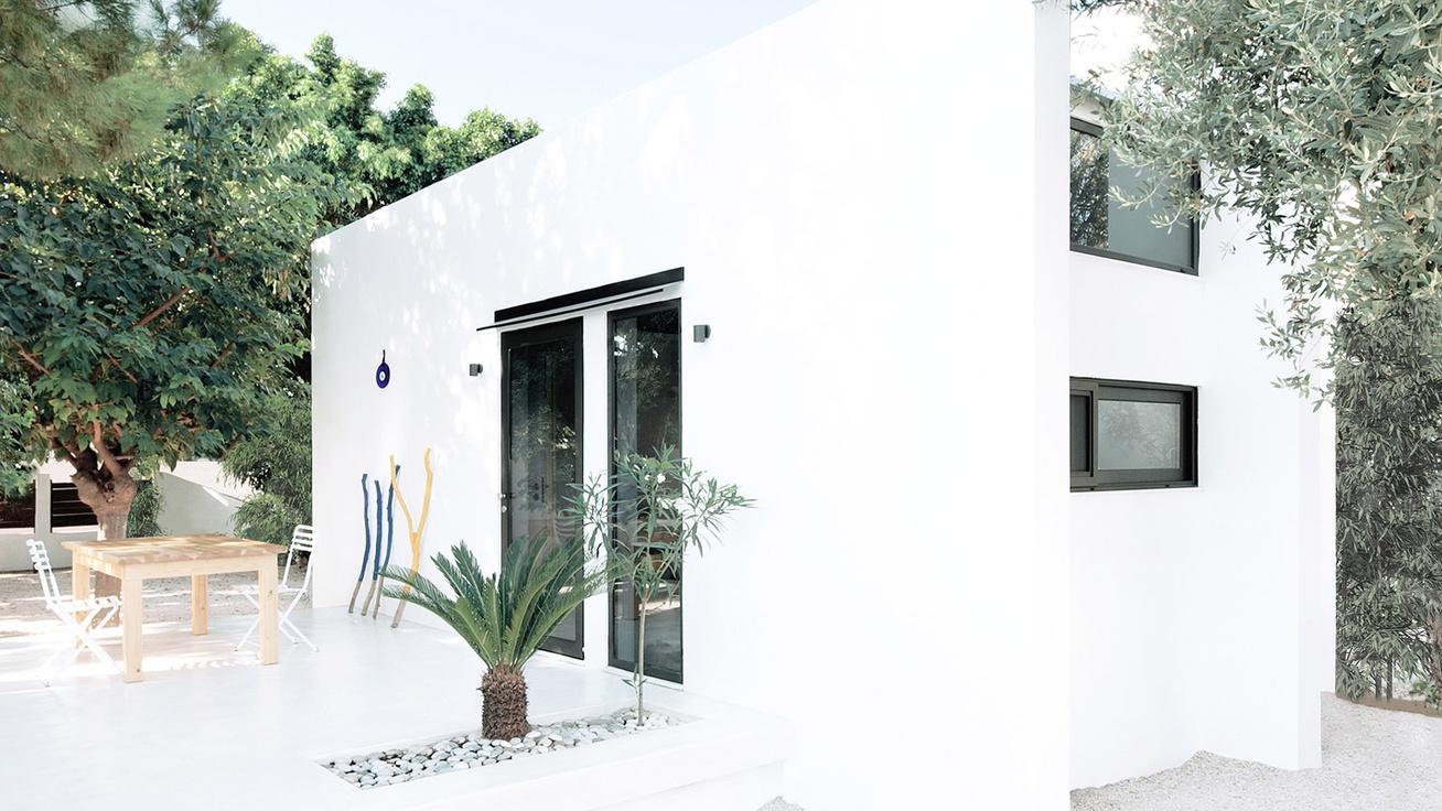 26 négyzetméter a rodoszi kis ház, mégis mindenkit elvarázsol - Igazi mediterrán gyöngyszem