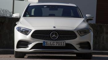 Menetpróba: Mercedes-Benz CLS - 2018.