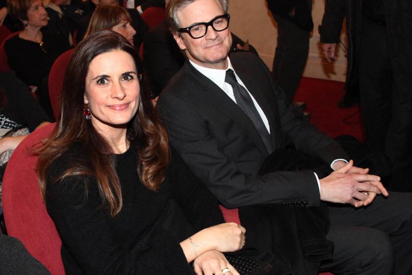 colin firth és felesége
