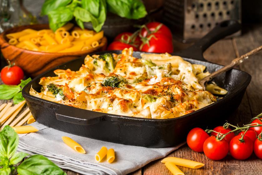 Zöldséges, mascarponés tészta a sütőből - Kiadós, ízletes fogás 40 perc alatt