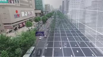 Mesterséges intelligenciára épülő forgalomirányítás épül Kínában