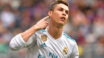 C. Ronaldo egymaga verte meg az Eibart
