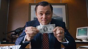 Elsikkasztott dollárszázmilliókból készült a Wall Street farkasa