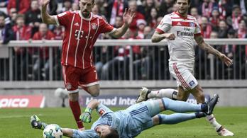 6-0-s Bayern-KO, Ribéry hülyét csinált a védelemből