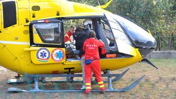 Idős, rossz állapotú mentőhelikoptereket venne a kormány