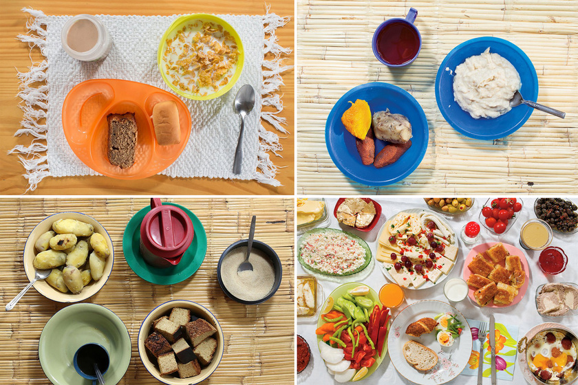 Mit reggeliznek a gyerekek a világ körül? Van, ahol csak krumpli jut a kicsiknek