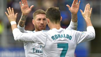 Ramosnak sürgősen WC-re kellett mennie, tízemberes volt a Real