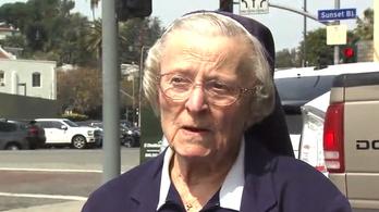 A bíróságon halt meg a Katy Perryvel pereskedő 89 éves apáca
