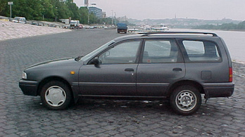 Nissan Sunny Traveller 1.6 SLX California tartósteszt
