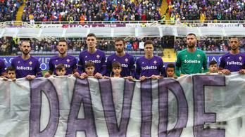 Gyönyörűen búcsúztatják Firenzében az elhunyt Davide Astorit