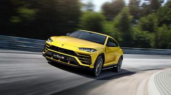 Bejött a Lamborghininek az Urus