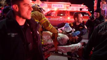 Tengerbe zuhant egy helikopter New Yorknál, az összes utas meghalt